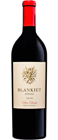 Blankiet Estate  2016 Rive Droite Red Wine Paradise Hills Vineyard 750 ml.
